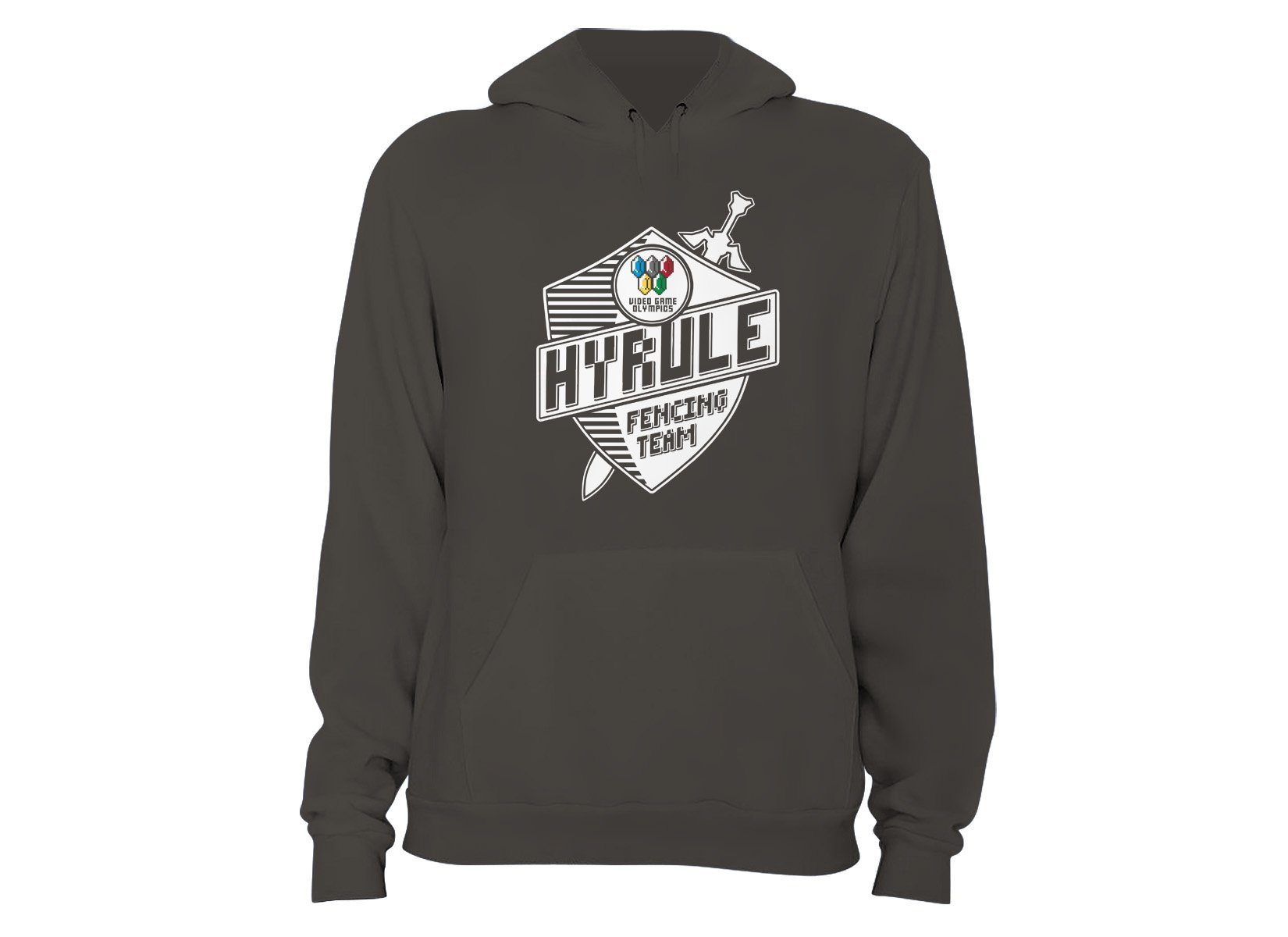 Hyrule Fencing Team on Hoodie