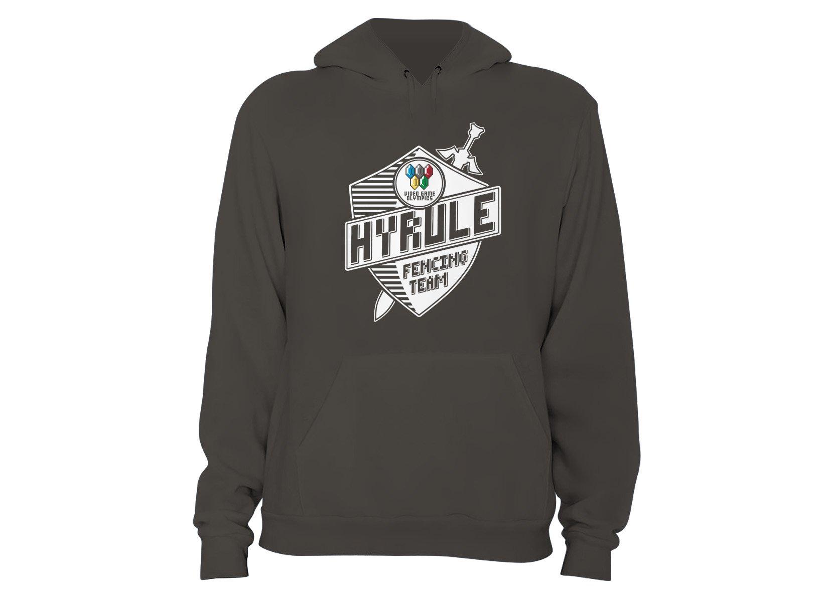 Hyrule Fencing Team on Hoodie