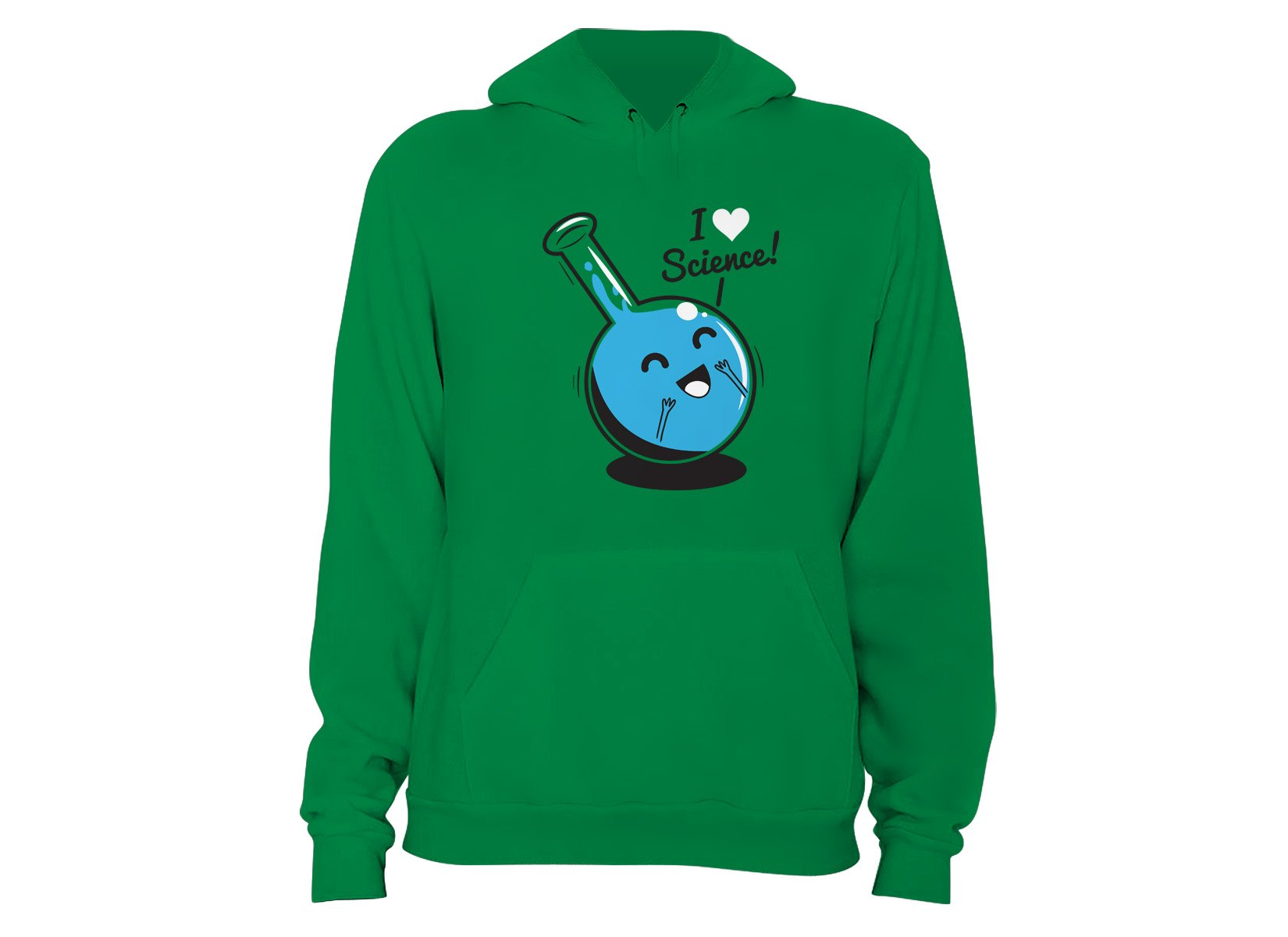 I Heart Science on Hoodie