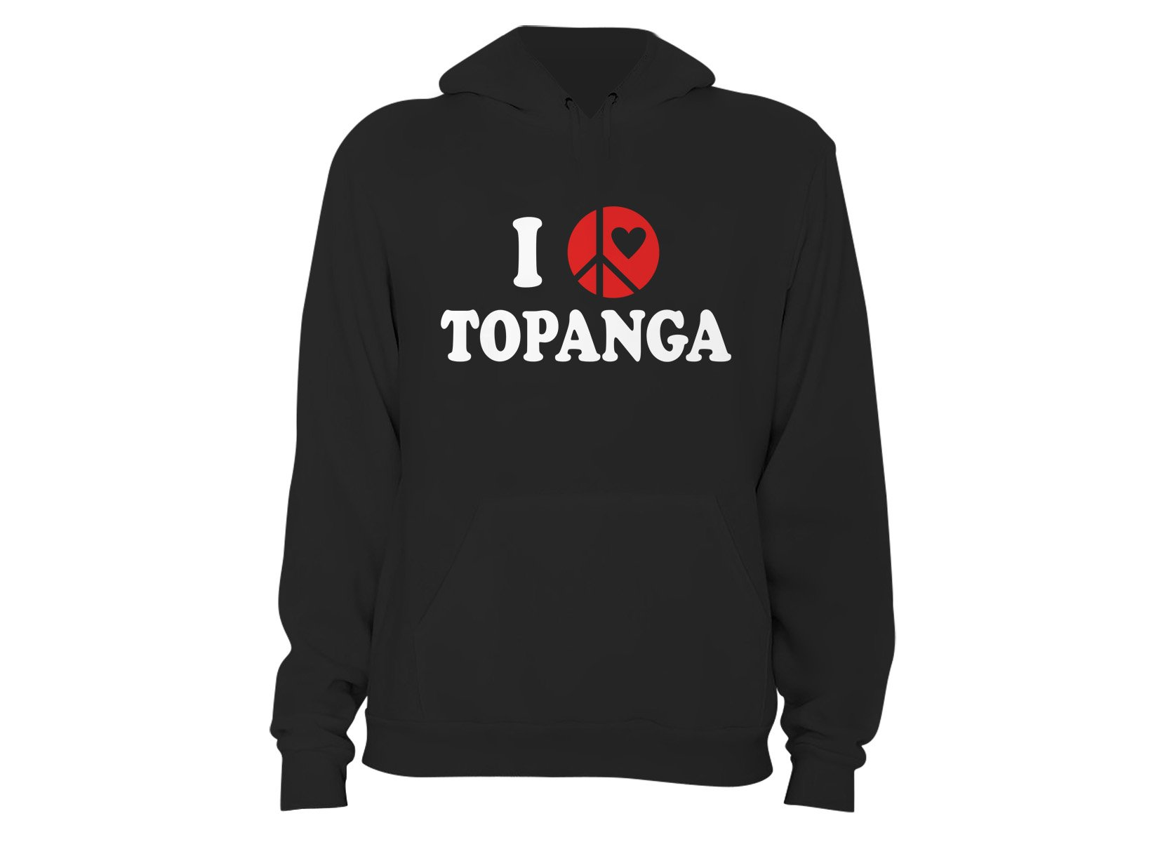Topanga on Hoodie