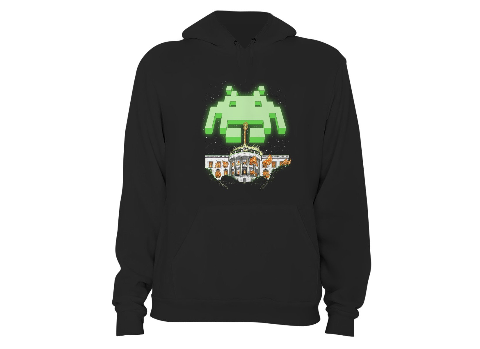 Invader Day on Hoodie