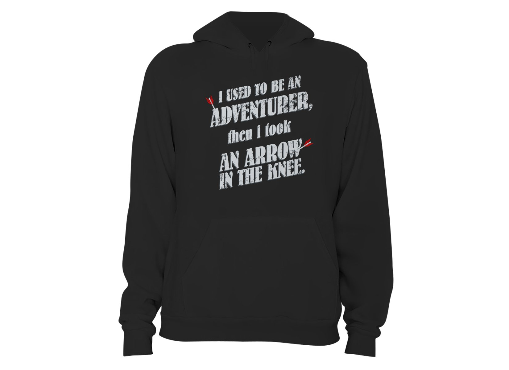 I Used To Be An Adventurer on Hoodie