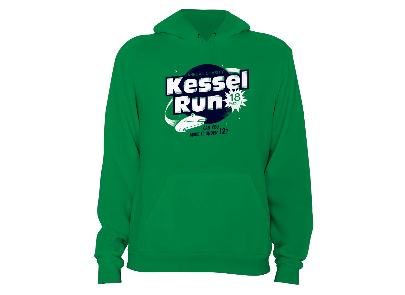 Kessel Run on Hoodie