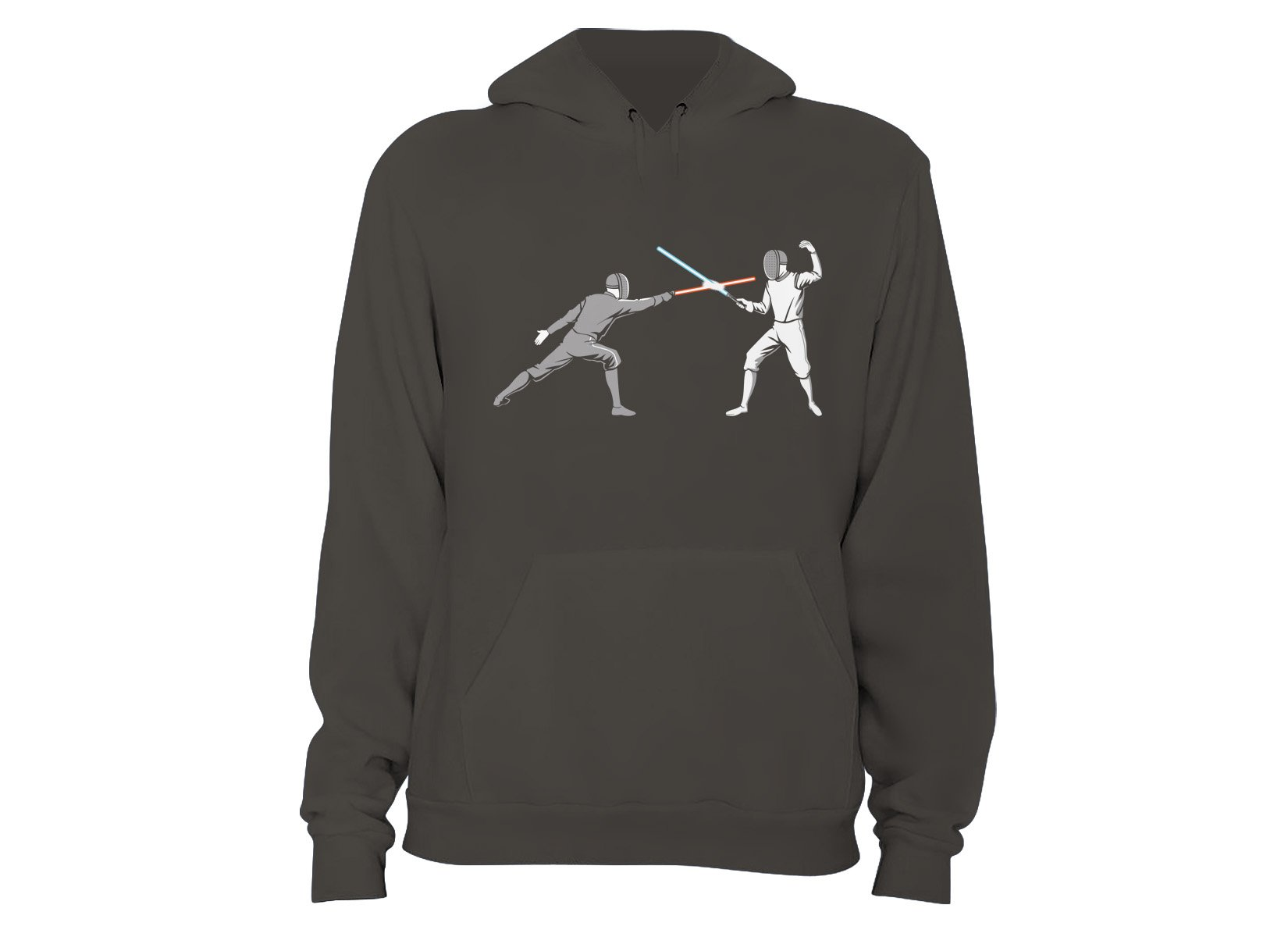 Light Fencing on Hoodie