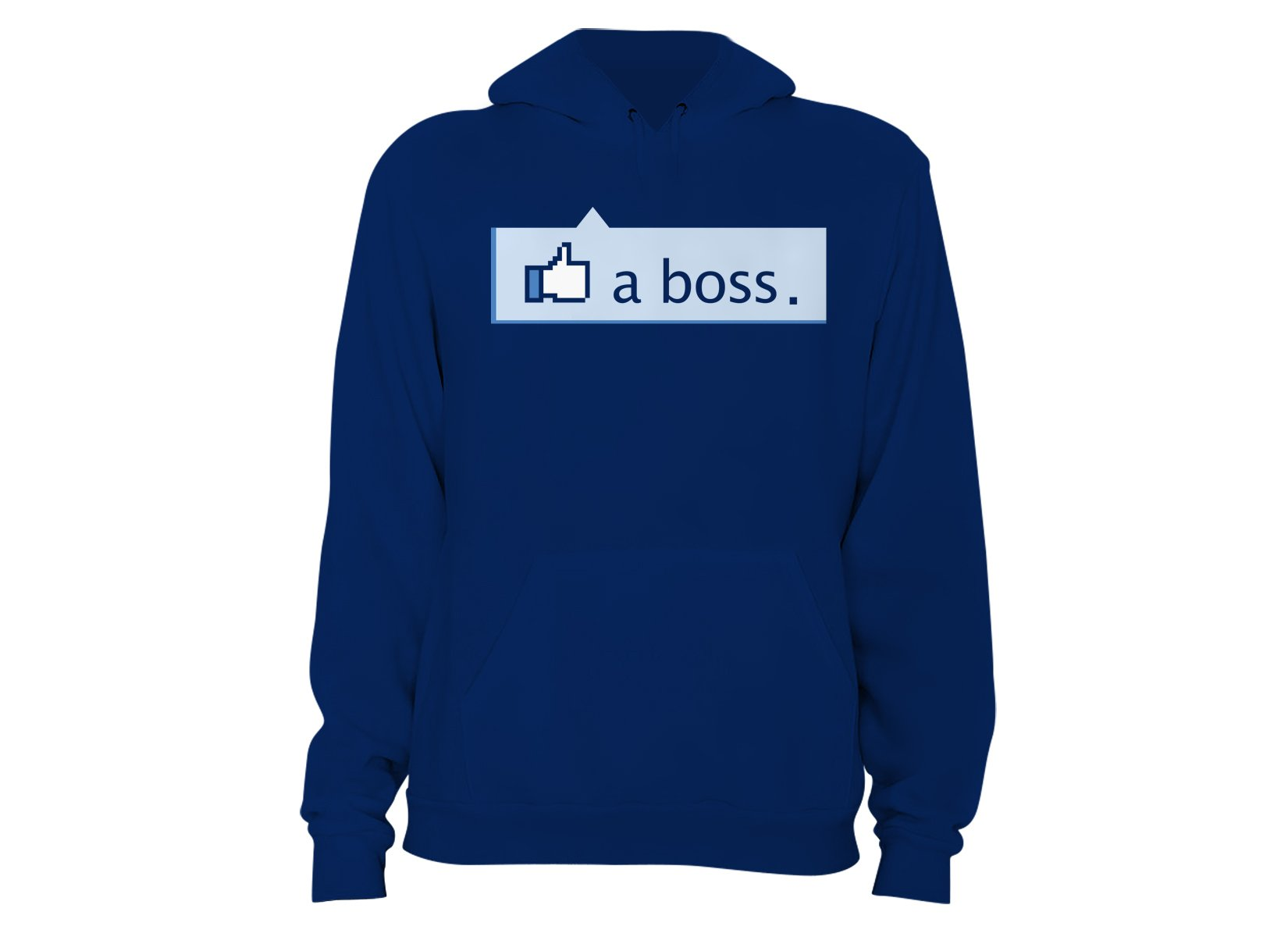 Like A Boss Thumbs Up on Hoodie