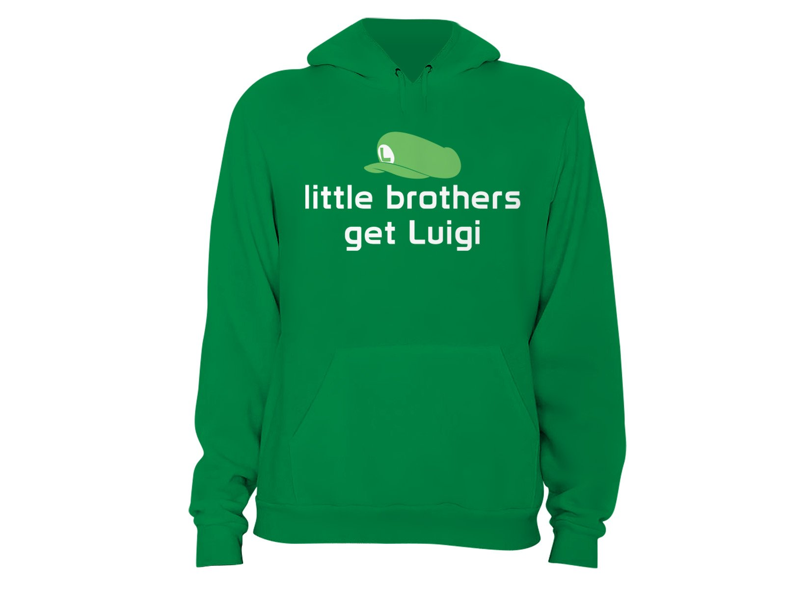 Little Brothers Get Luigi on Hoodie