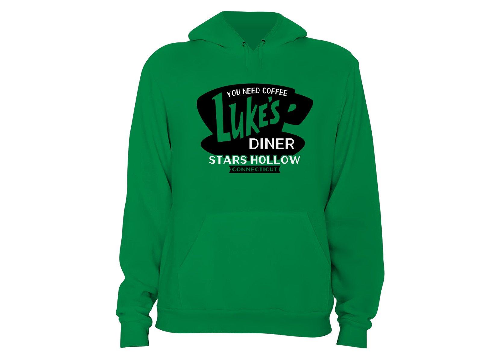 Luke's Diner on Hoodie