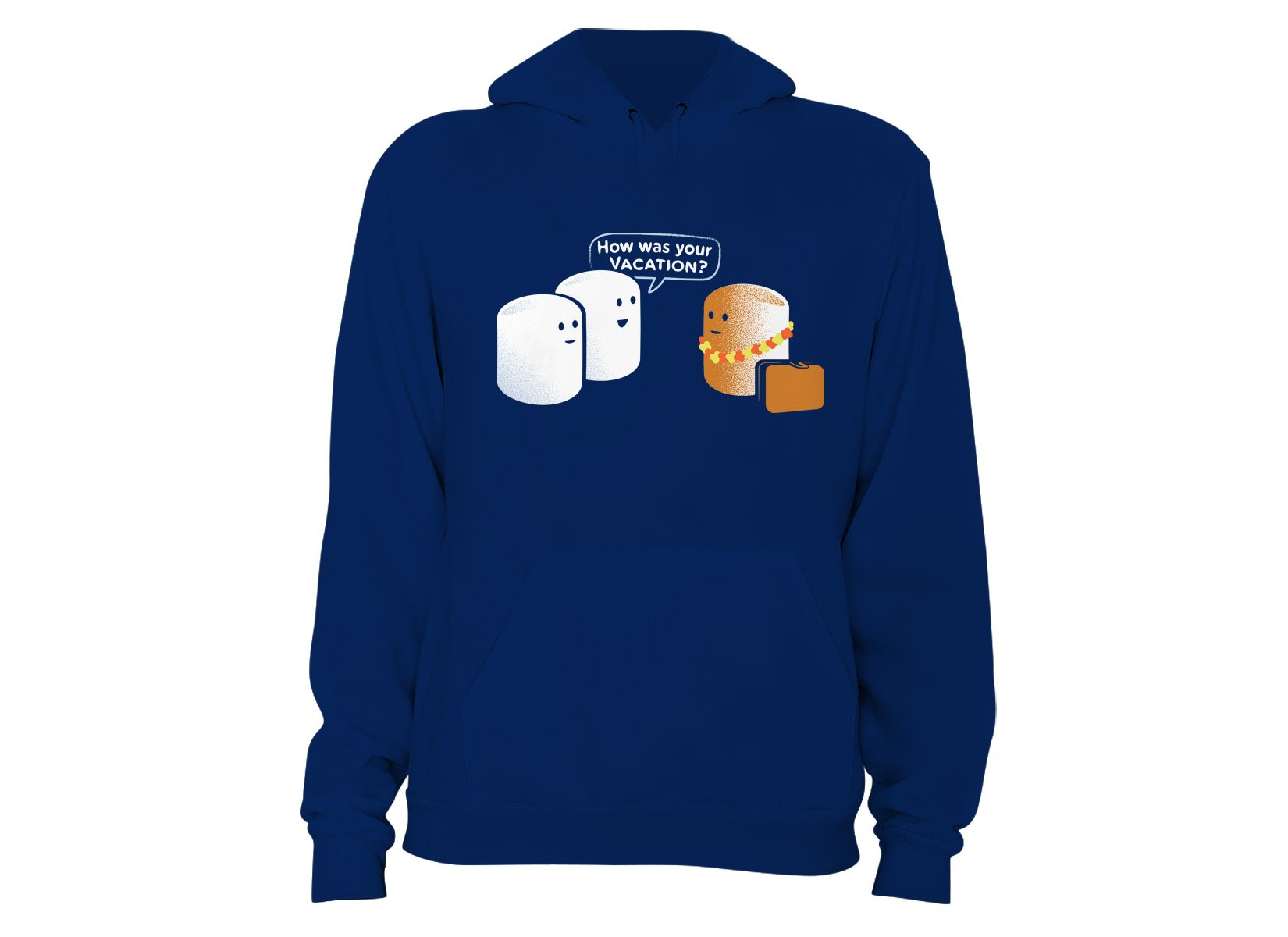 Marshmallow Vacation on Hoodie
