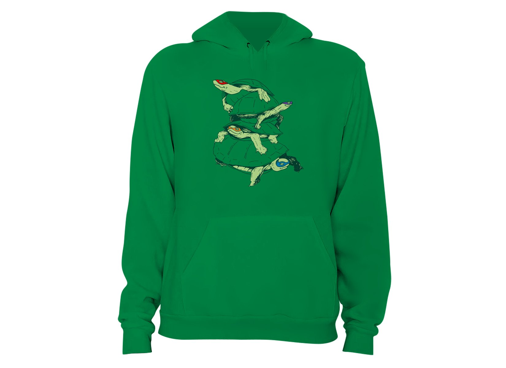 Masked Turtles on Hoodie