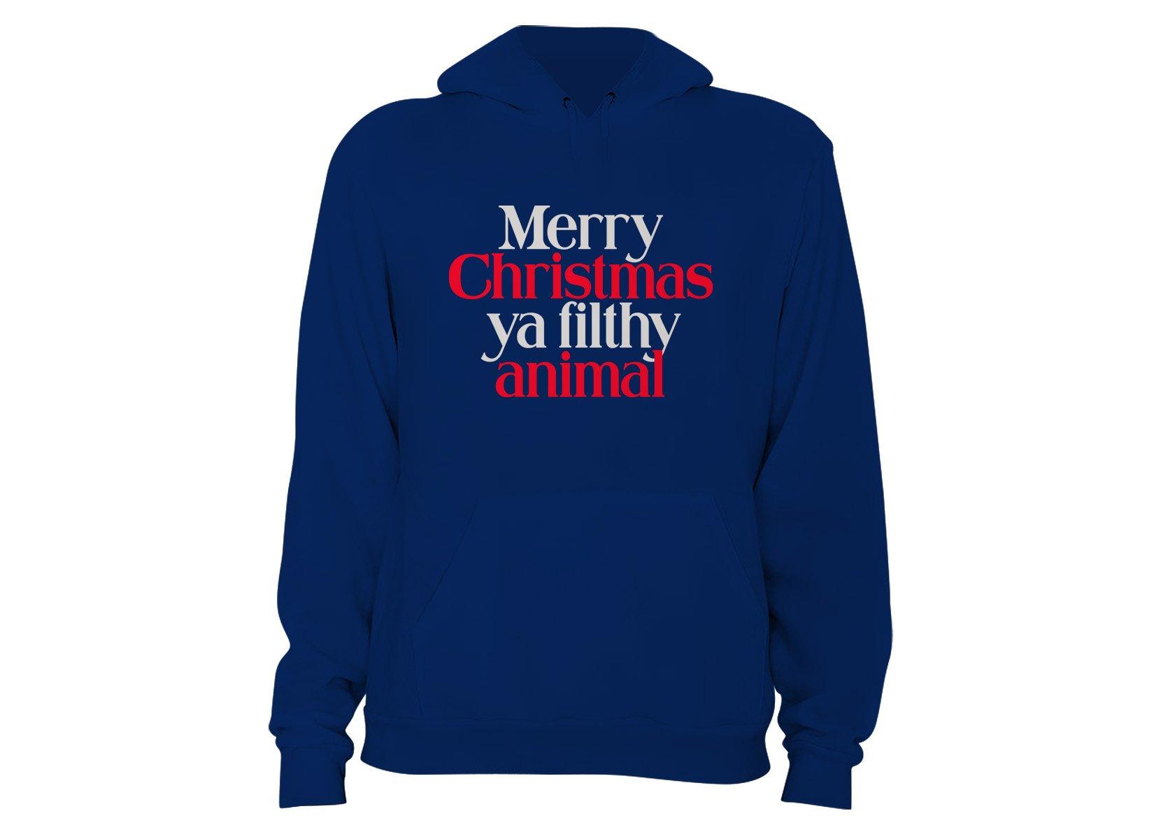 Merry Christmas Ya Filthy Animal T Shirt Snorgtees