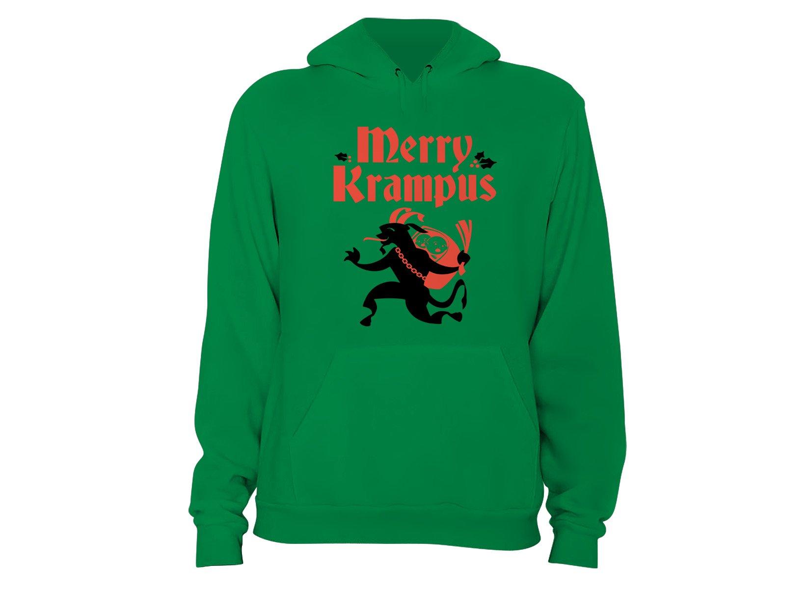 Merry Krampus on Hoodie