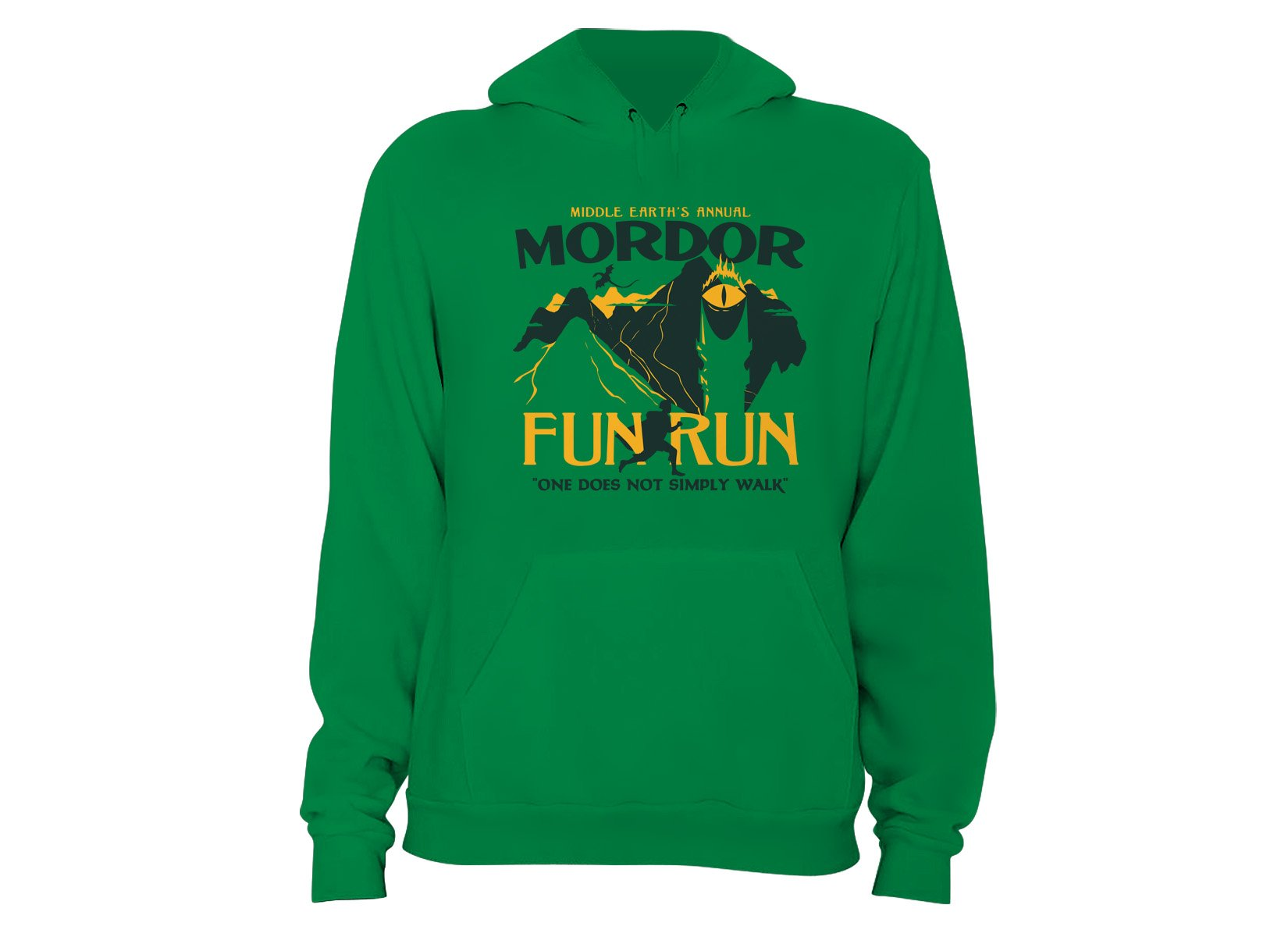 Mordor Fun Run on Hoodie