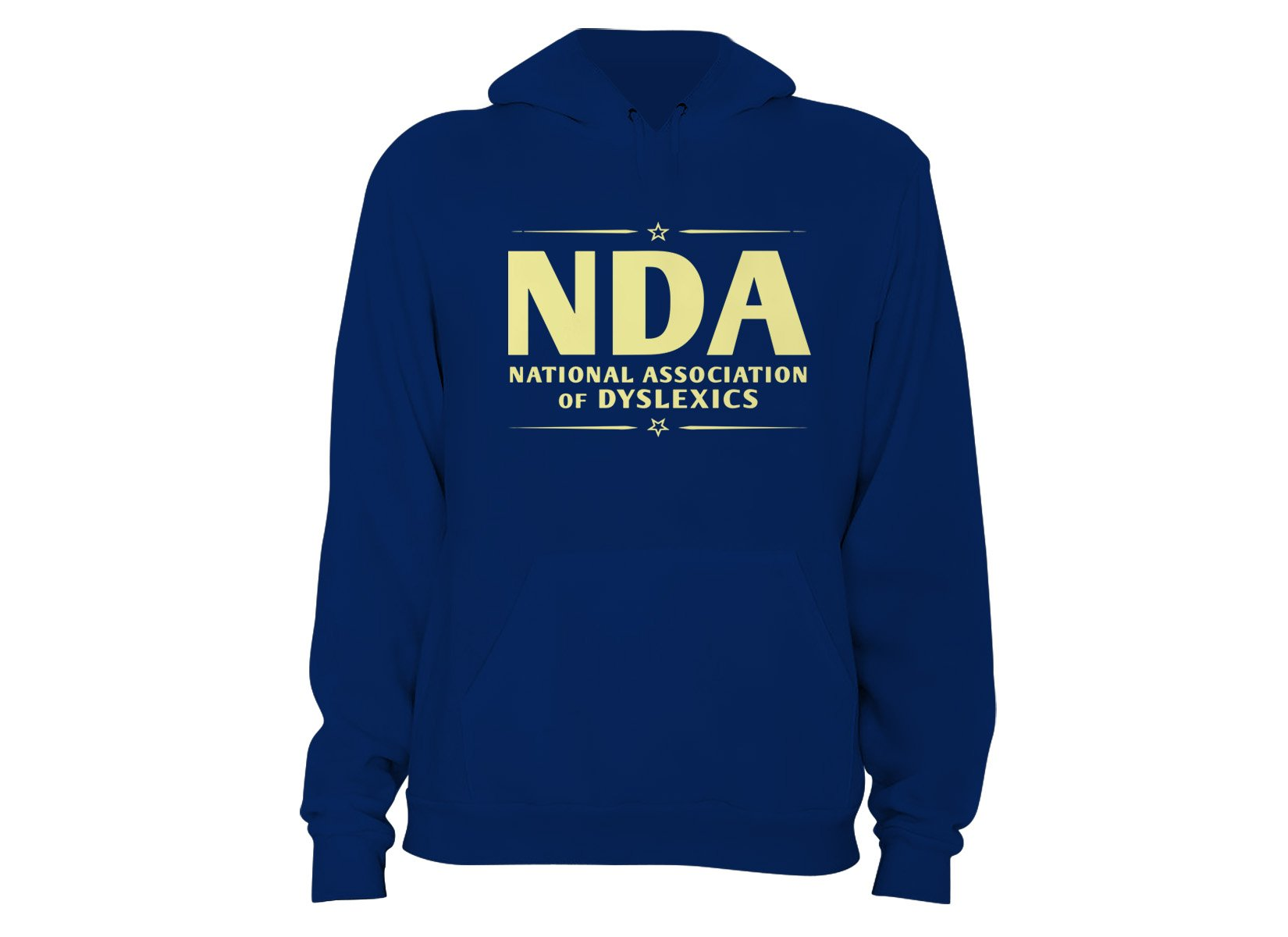 National Association of Dyslexics on Hoodie