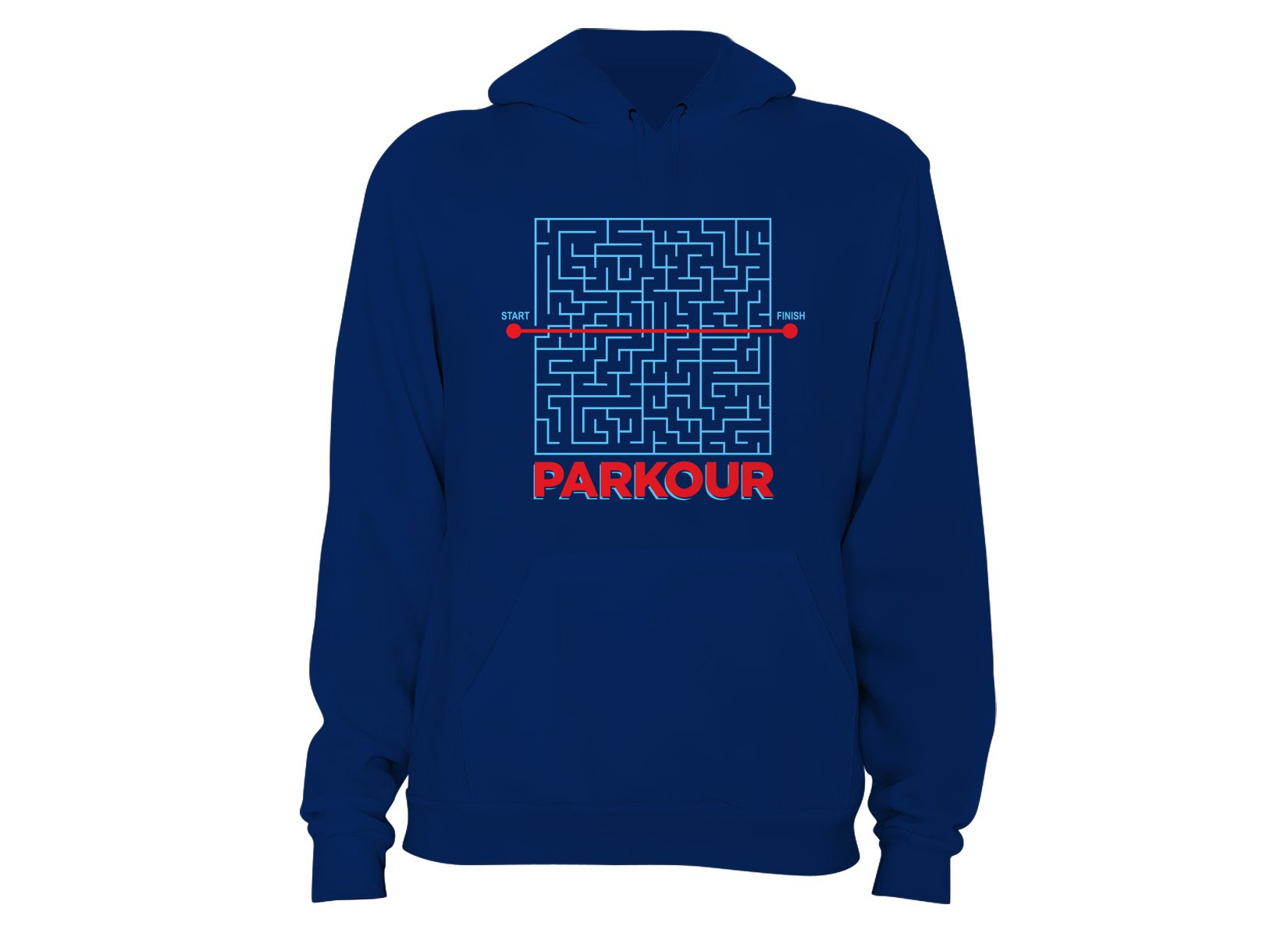Parkour on Hoodie