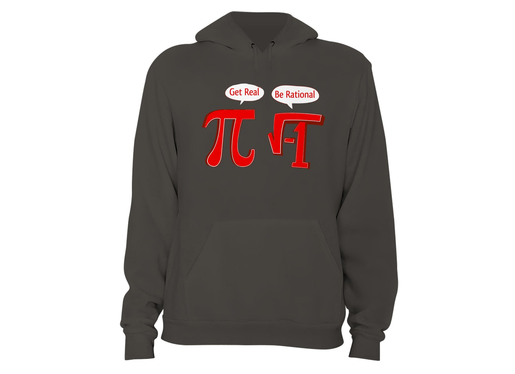 Pi Be Rational on Hoodie