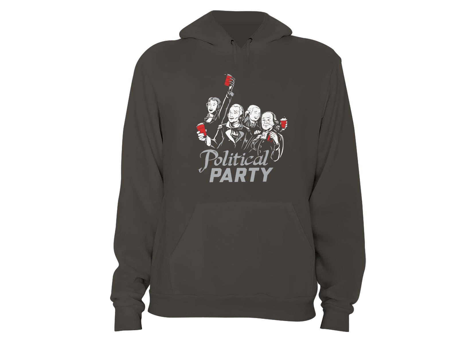 Political Party on Hoodie