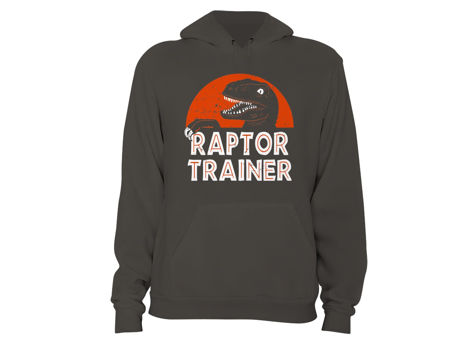 Raptor Trainer on Hoodie