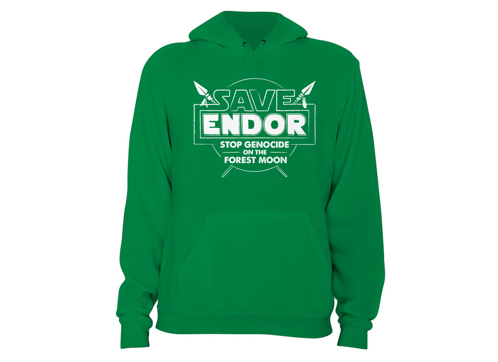 Save Endor on Hoodie