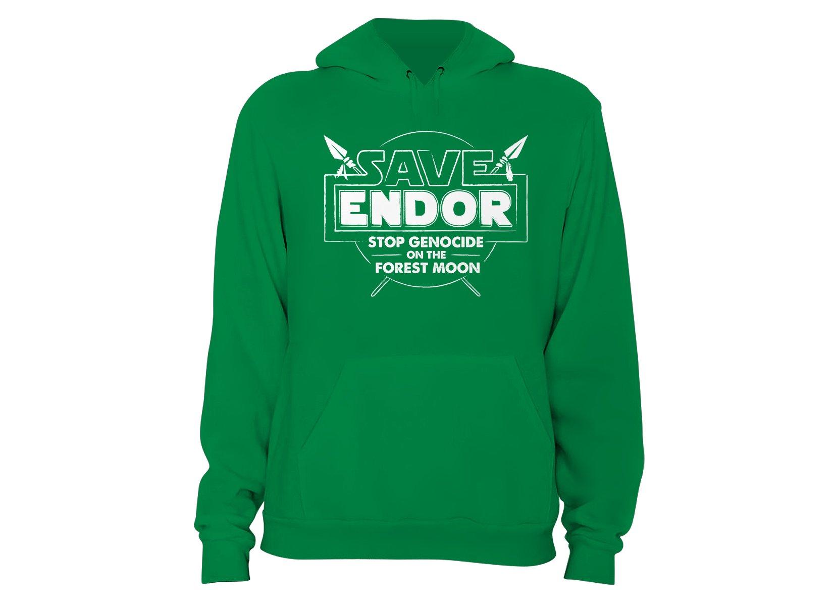 Save Endor on Hoodie