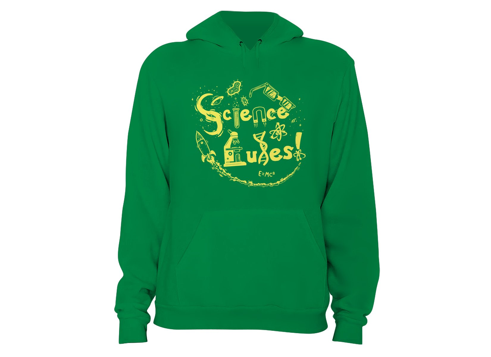 Science Rules! on Hoodie