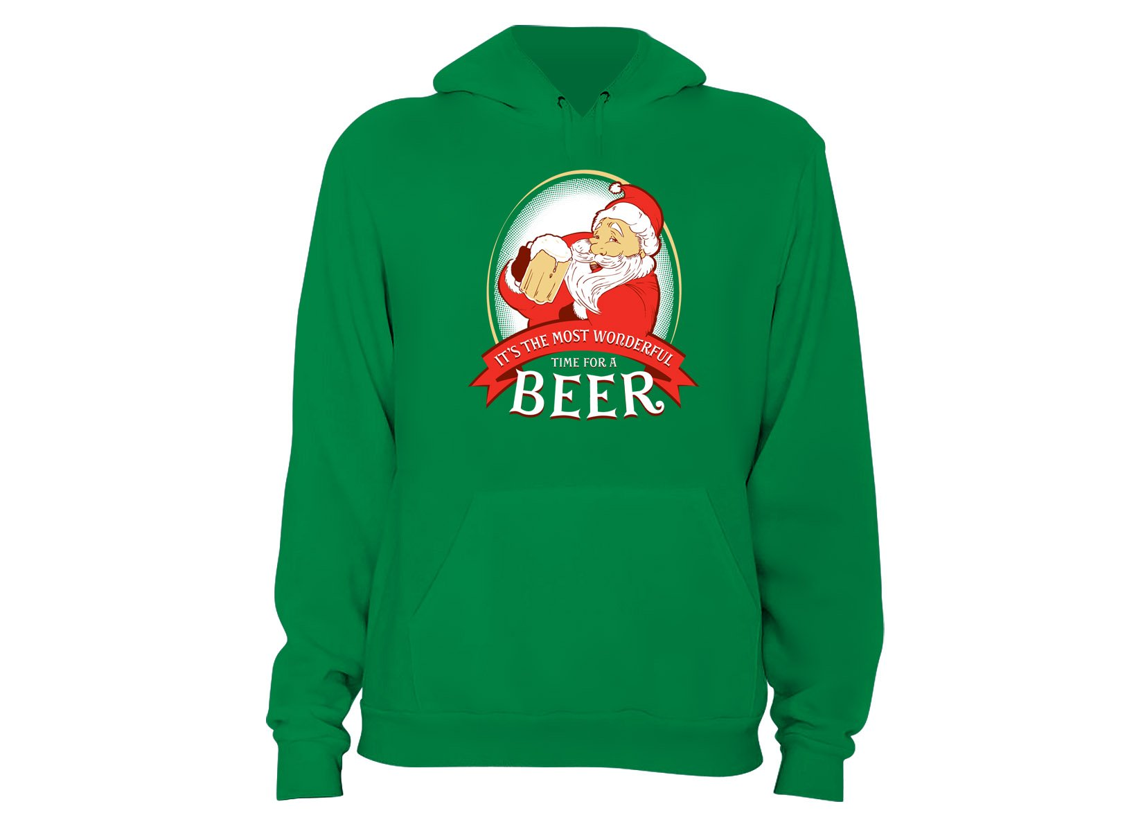 It's The Most Wonderful Time For A Beer on Hoodie