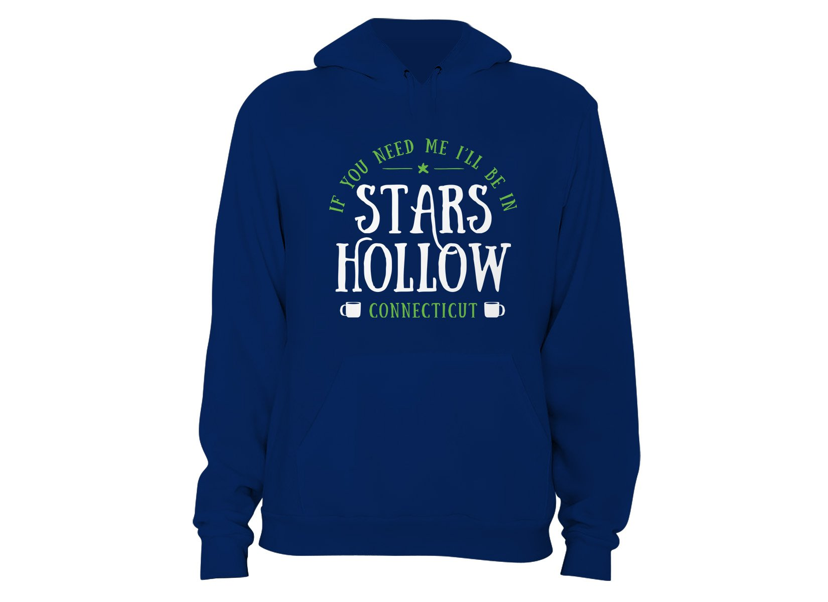Stars Hollow on Hoodie