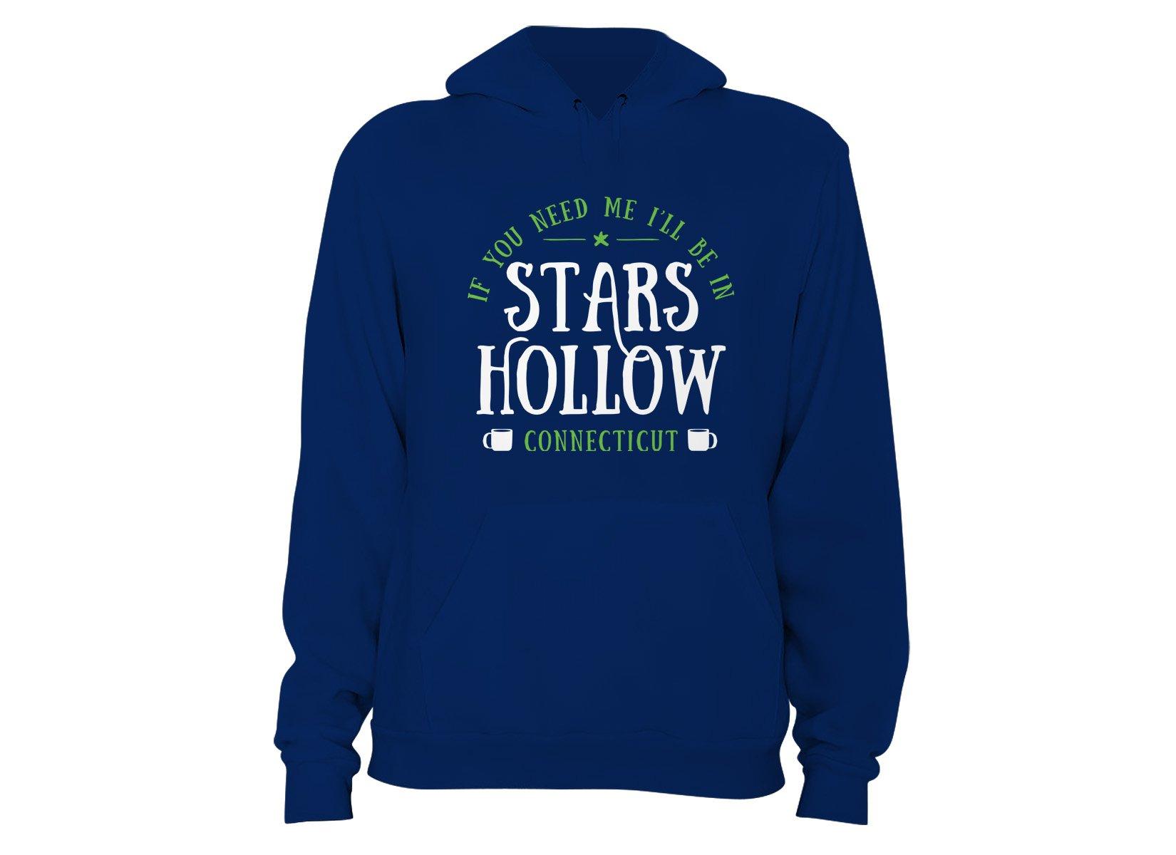 Stars Hollow on Hoodie