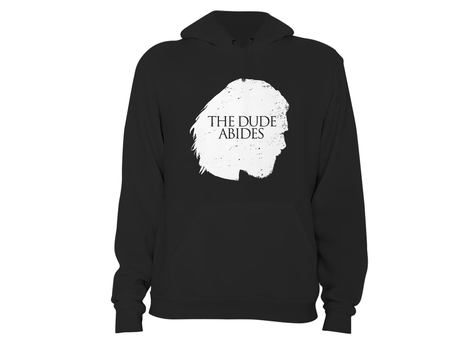 The Dude Abides on Hoodie
