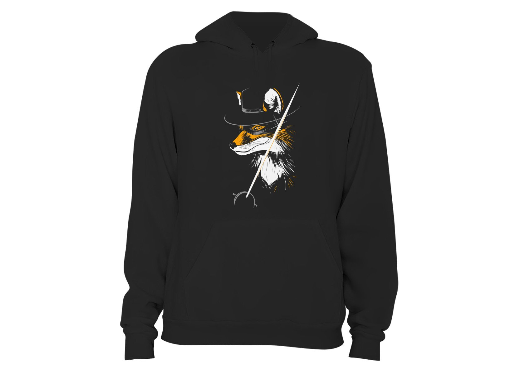 The Fox on Hoodie