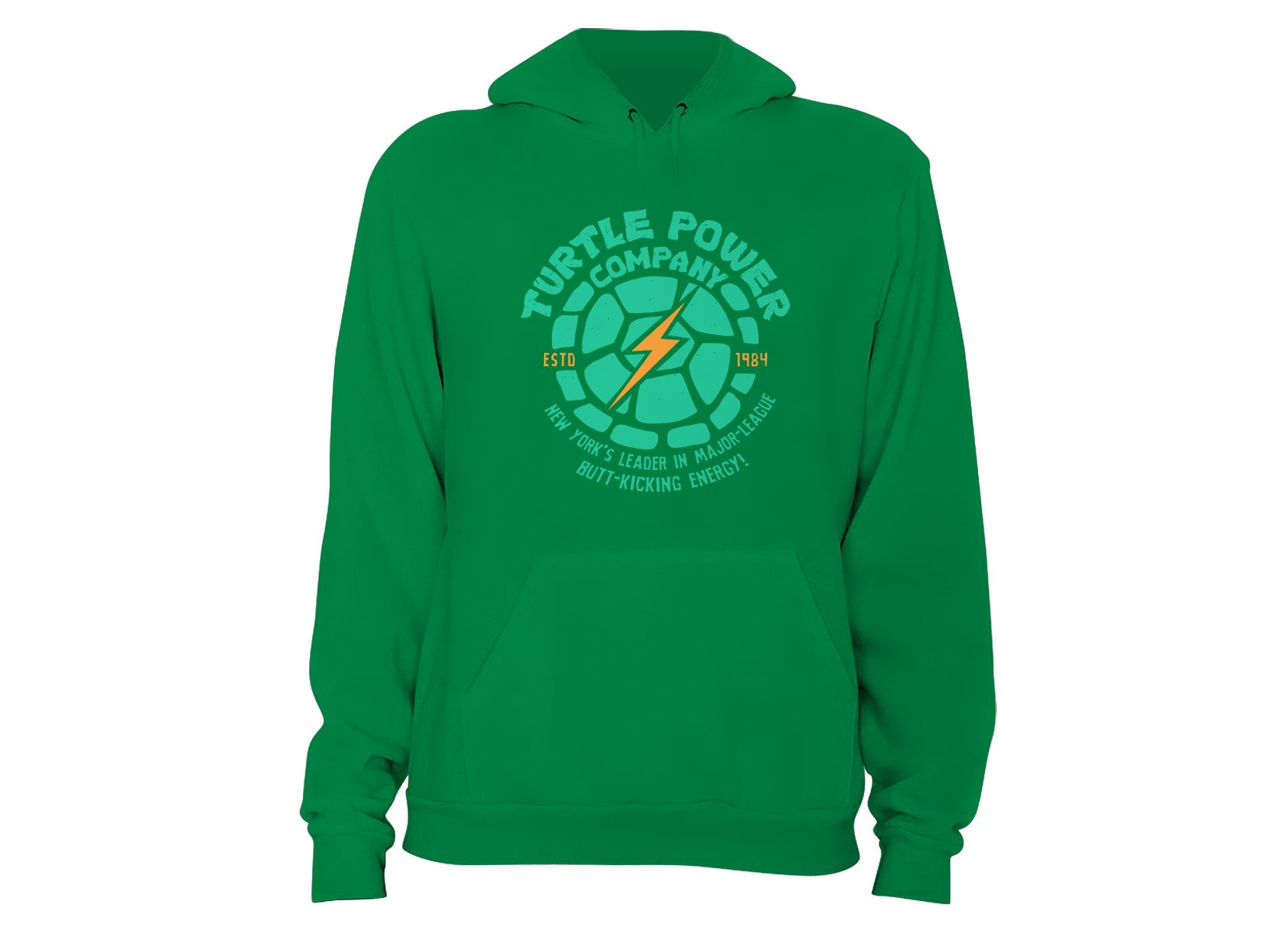 Turtle Power Company on Hoodie