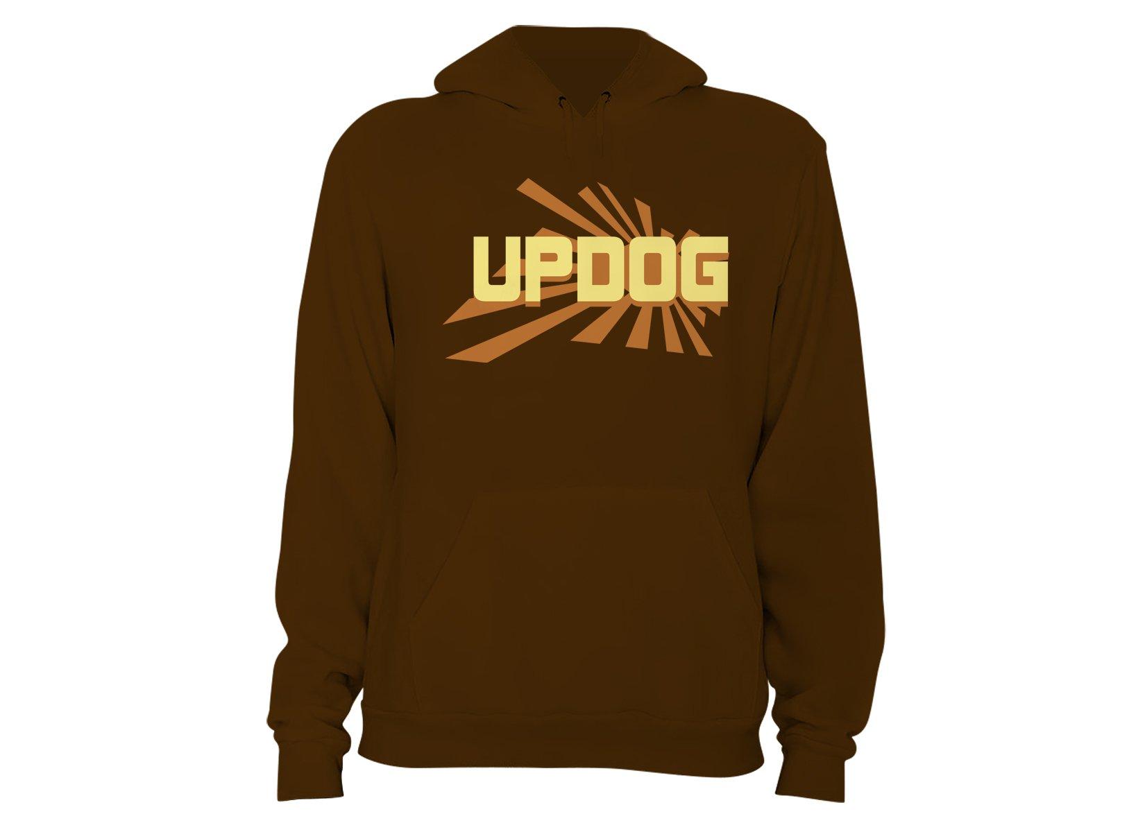 Updog on Hoodie