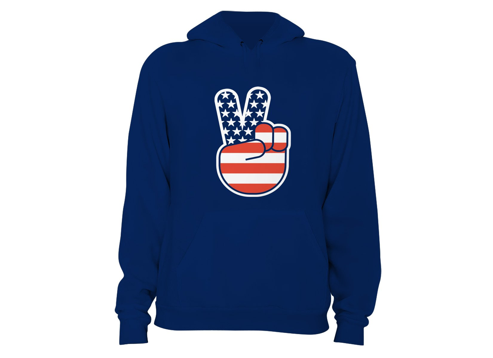 USA Peace on Hoodie