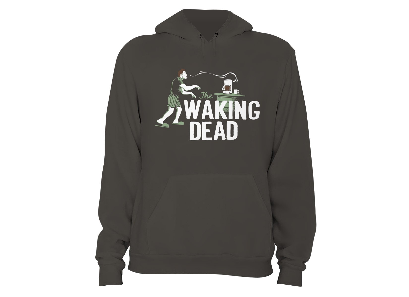The Waking Dead on Hoodie