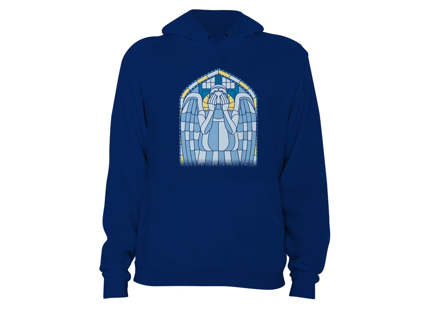 Weeping Angel on Hoodie