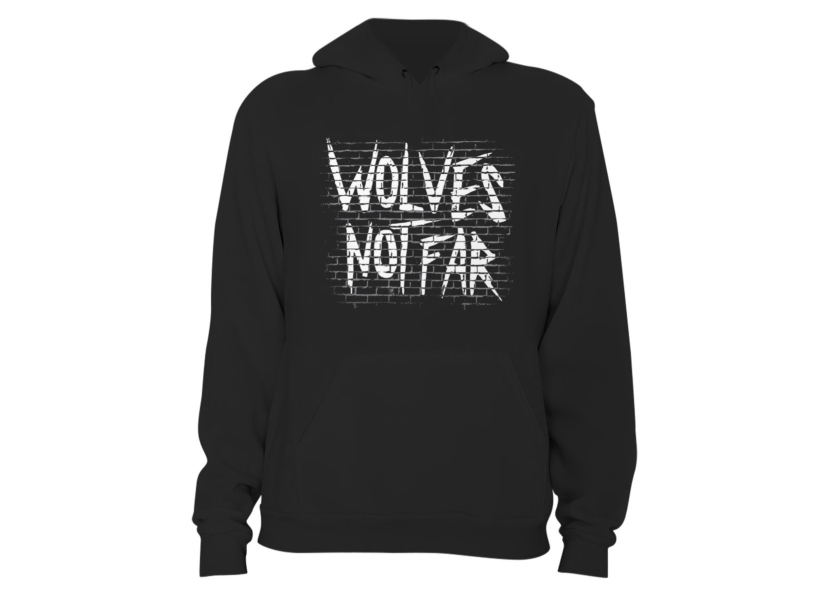 Wolves Not Far on Hoodie