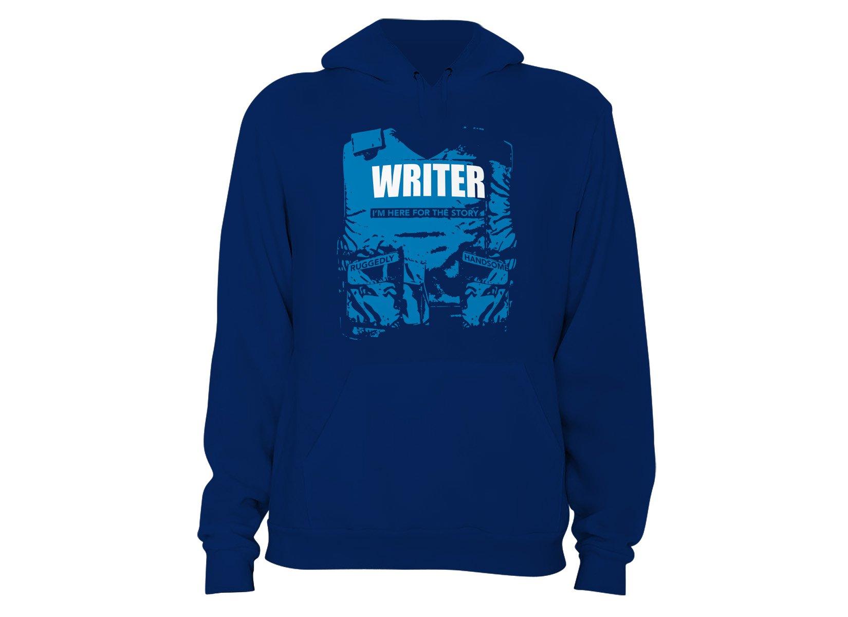 Writer on Hoodie