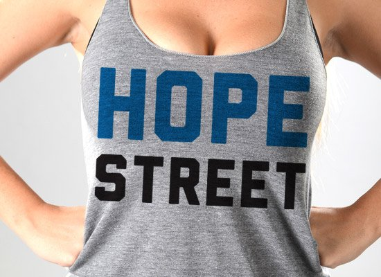Hope Street on Tanks T-Shirt