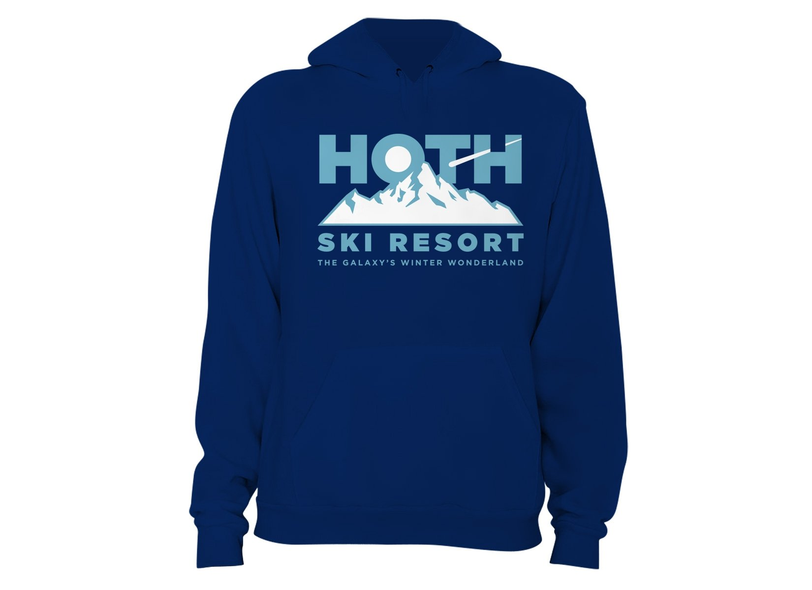 Hoth Ski Resort on Hoodie