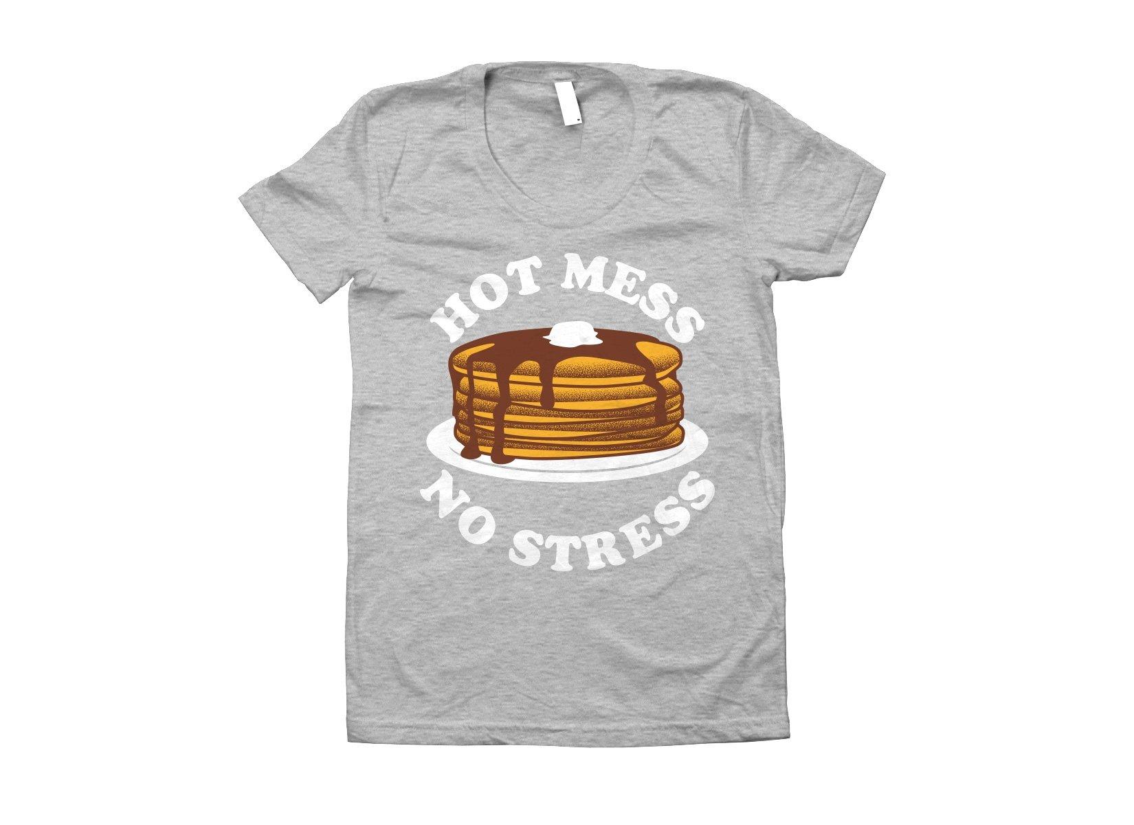 Hot Mess No Stress on Juniors T-Shirt