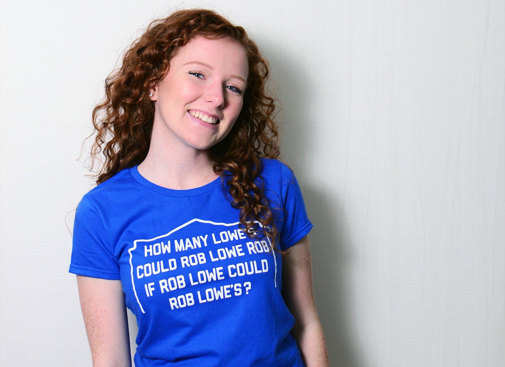 Rob Lowe Rob on Womens T-Shirt