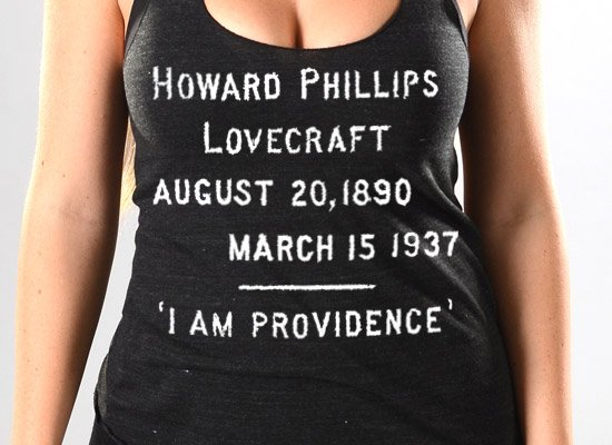 HP Lovecraft on Tanks T-Shirt
