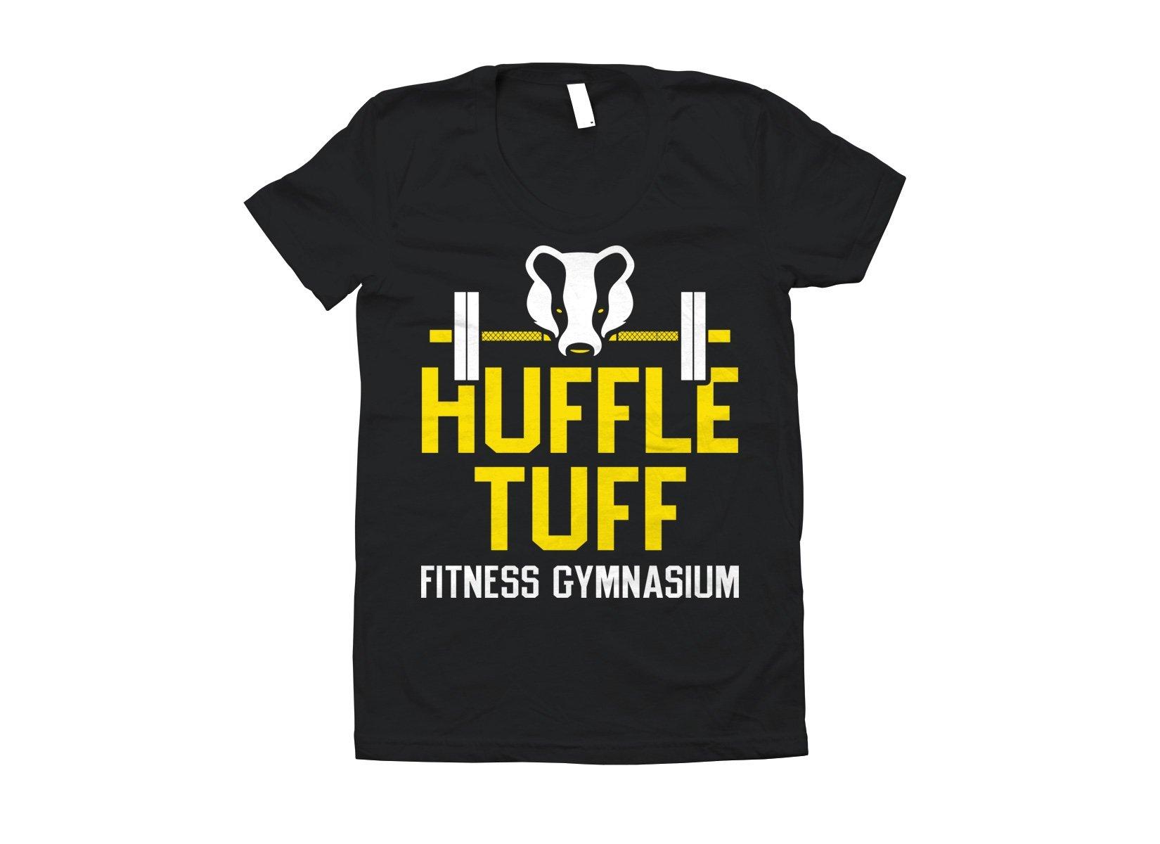 Huffle Tuff Gym on Juniors T-Shirt