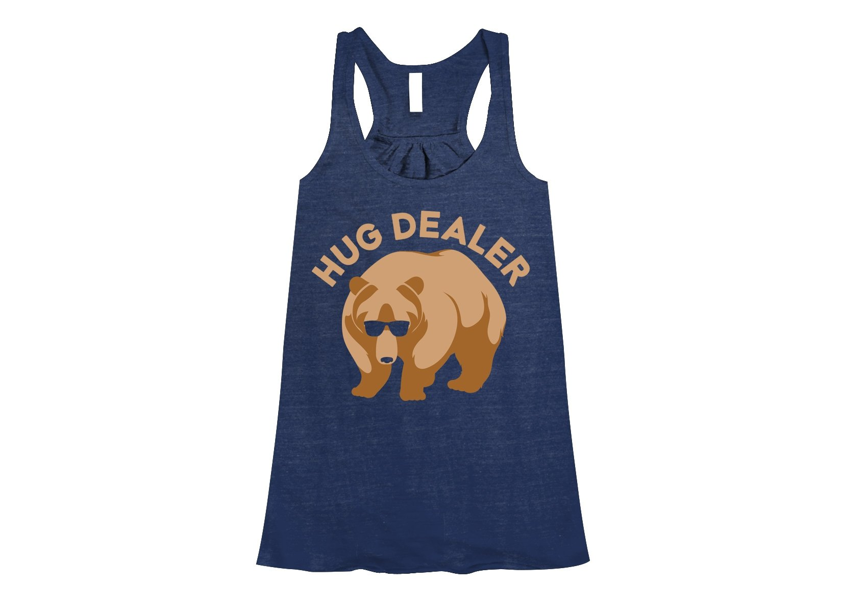Hug Dealer on Womens Tanks T-Shirt