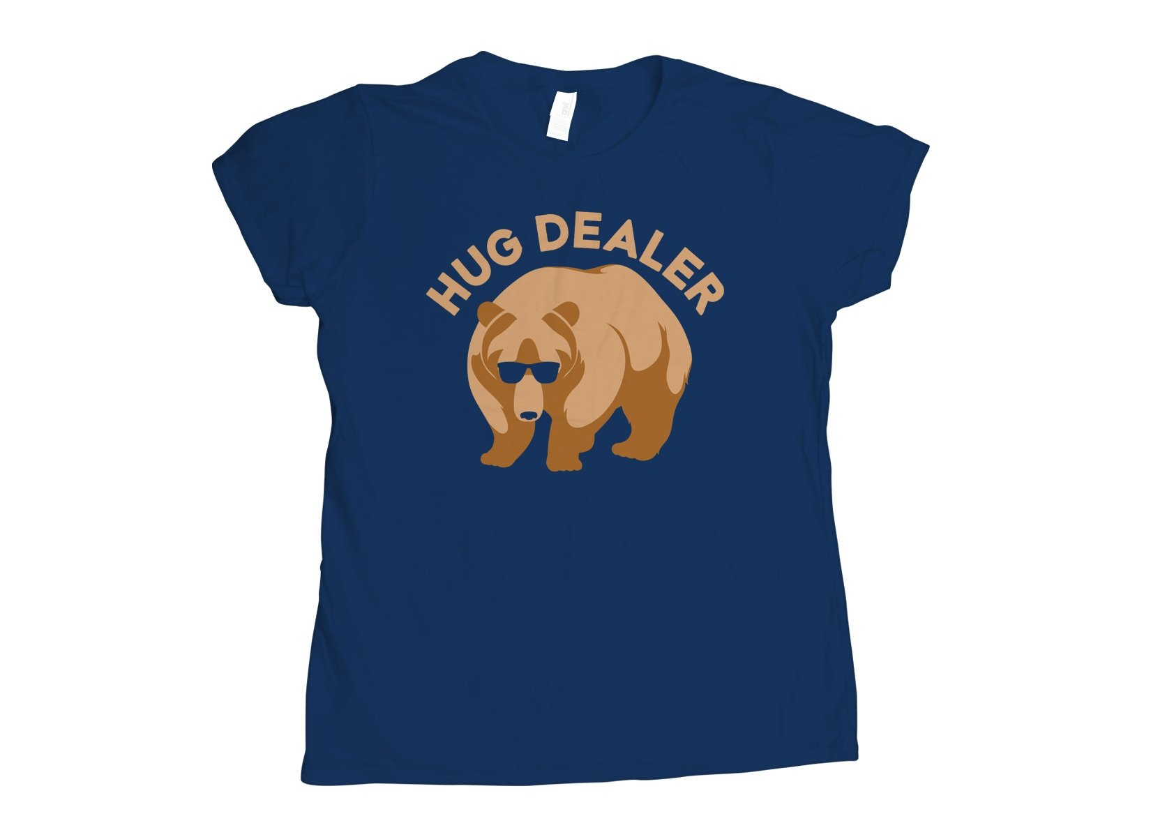 Hug Dealer on Womens T-Shirt