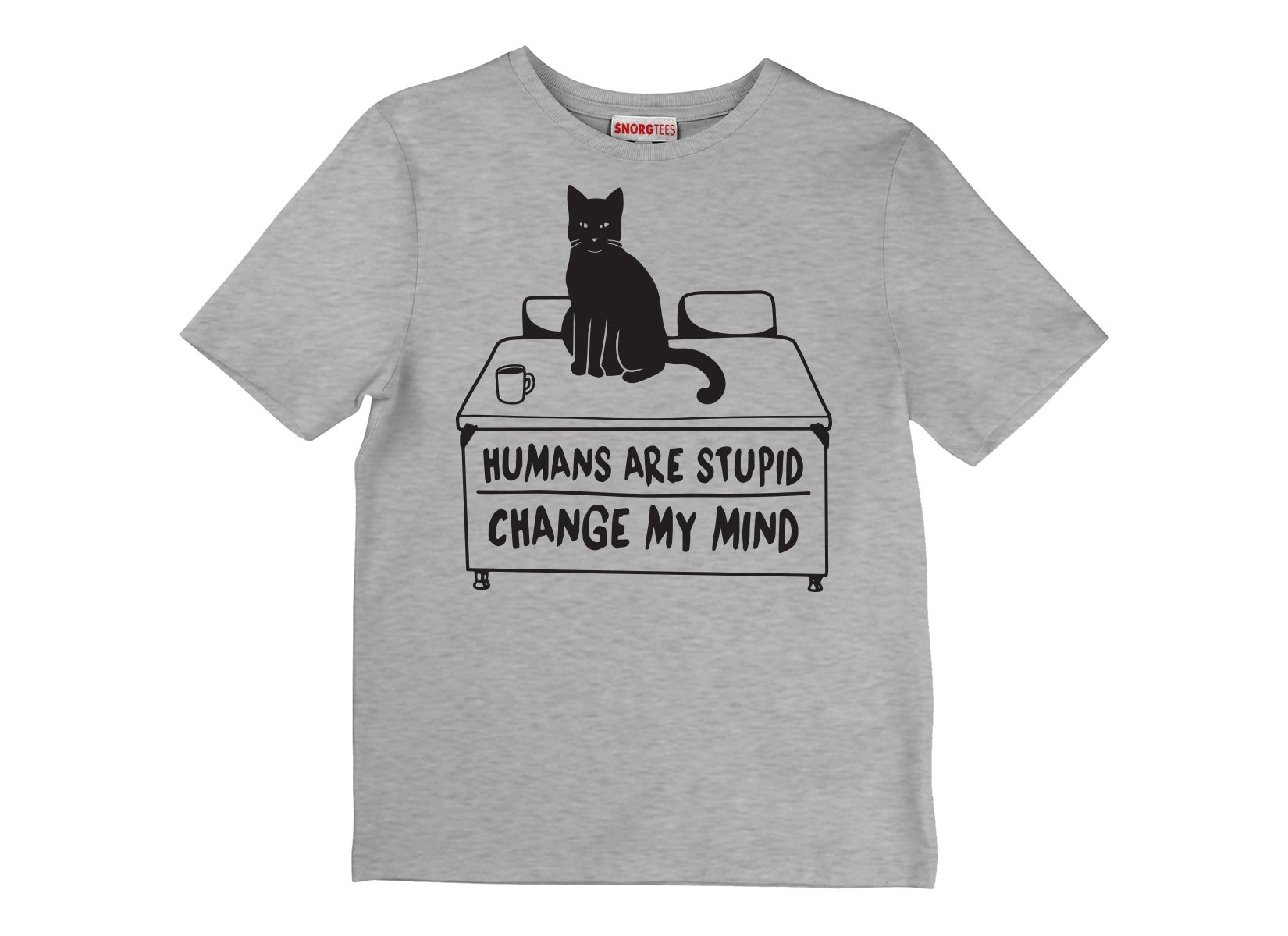 Humans Are Stupid on Kids T-Shirt