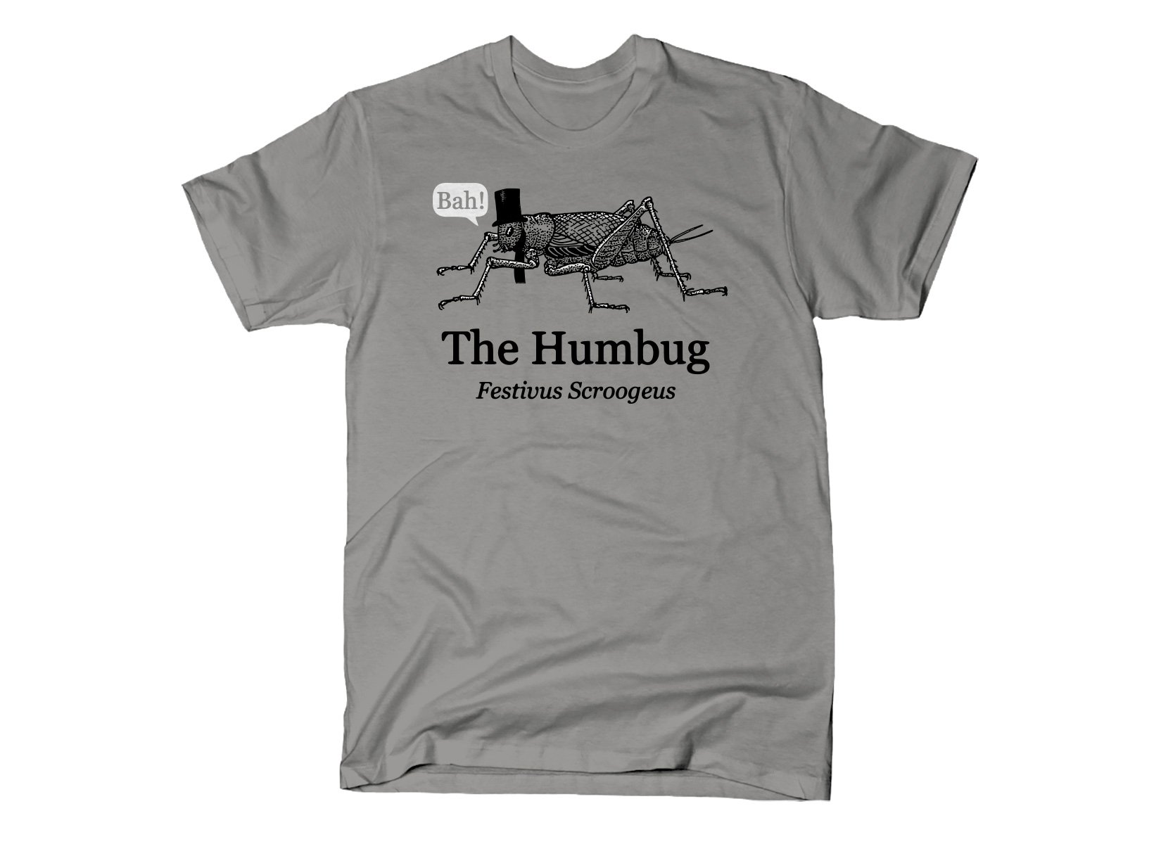 The Humbug on Mens T-Shirt