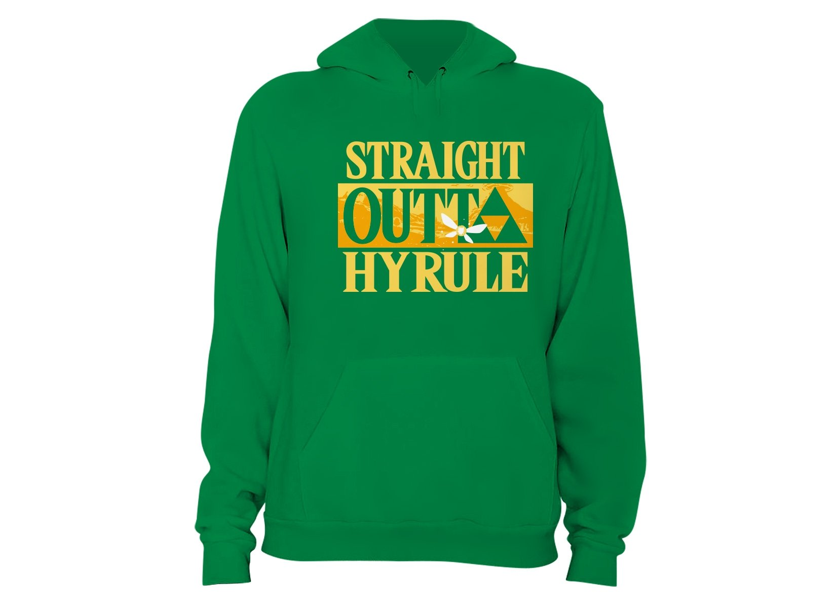 Straight Outta Hyrule on Hoodie