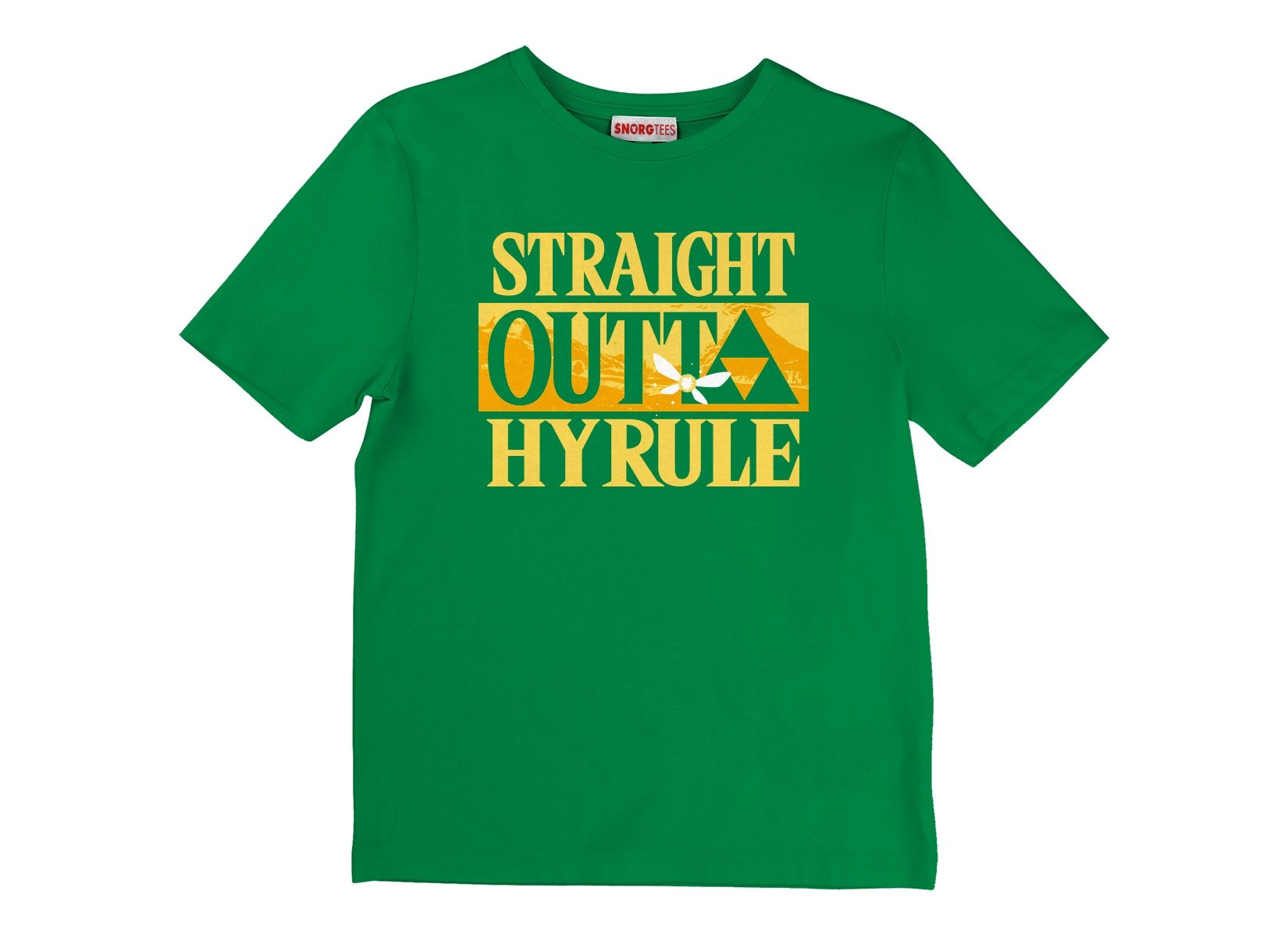 Straight Outta Hyrule on Kids T-Shirt