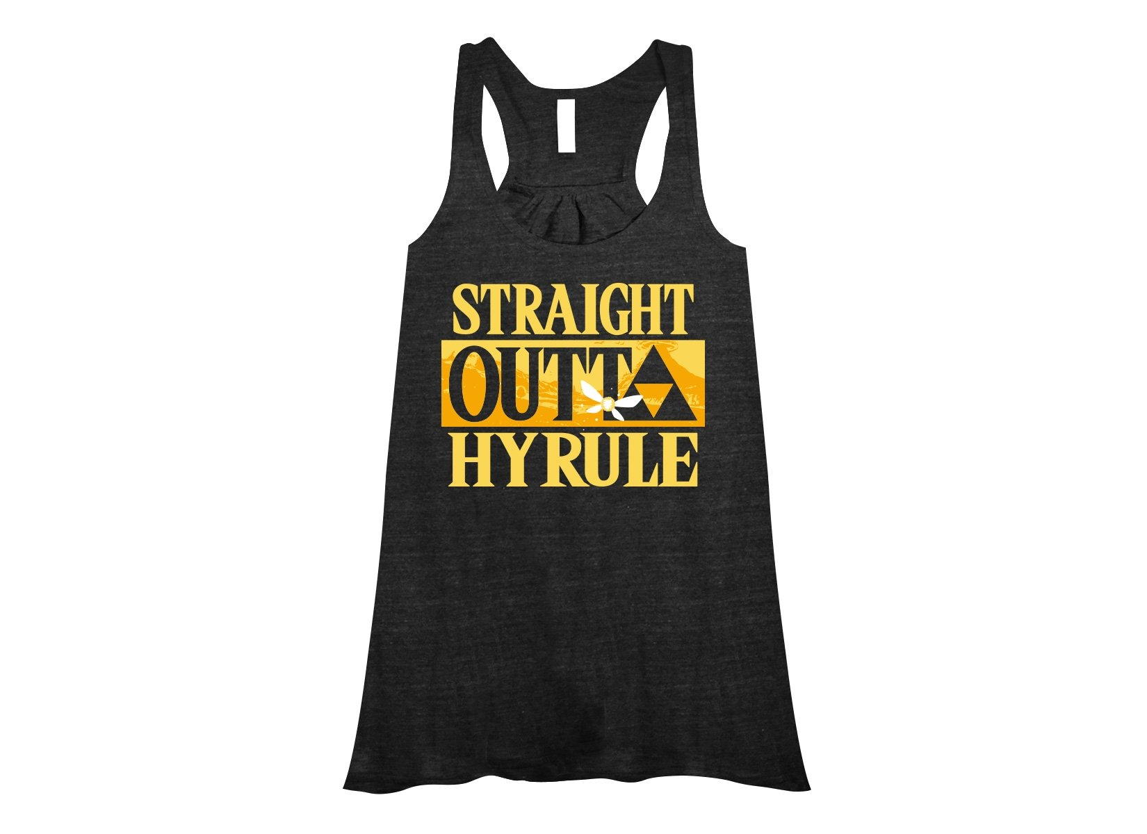 Straight Outta Hyrule on Womens Tanks T-Shirt