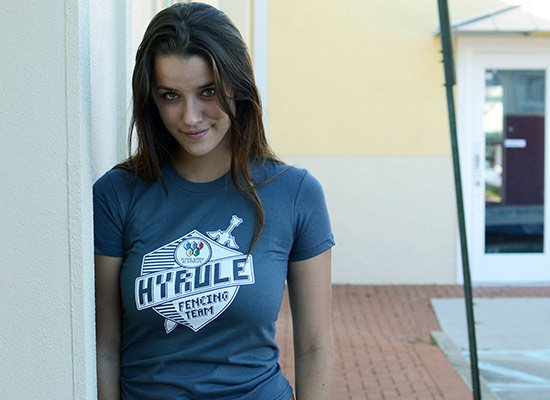 Hyrule Fencing Team on Juniors T-Shirt